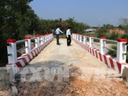 Ten rural bridges put into use in Tay Ninh province