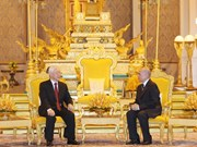Vietnam, Cambodia issue joint statement