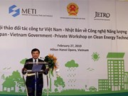 Workshop talks clean energy technology in Vietnam