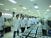 DPRK officials visit Viettel's research, production complex