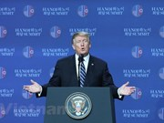 US President convenes press conference