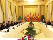Top Vietnamese leader hails DPRK Chairman's visit