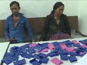 Son La: Lao nationals arrested for drug trafficking