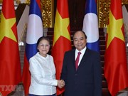 PM hosts Lao National Assembly leader