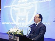 Vietnam, Laos share experience in local government activities