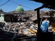 Indonesia hastens house construction for Lombok earthquake victims