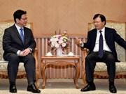 Deputy PM receives leader of Japan bank for international cooperation
