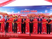 Solar power complex inaugurated in Dak Lak province