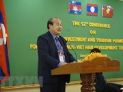 Cambodia, Laos, VN work to remove obstacles to cross-border trade