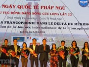Francophone festival of Mekong Delta underway