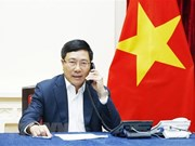 Deputy PM holds telephone talk with Malaysian FM