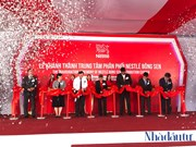 Nestle Vietnam inaugurates new distribution centre in Hung Yen province
