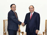 PM receives Myanmar minister of int'l cooperation