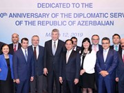 Vietnam, Azerbaijan look to increase diplomatic coordination