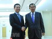 Cambodian PM welcomes Vietnamese information minister