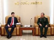 Czech's deputy foreign minister welcomed in Hanoi