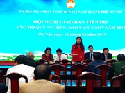 Hanoi raises nearly 1.3 million USD for Vietnam's sea, islands