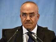 Congratulations to new Prime Minister of Algeria