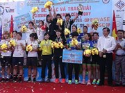 Int'l women's cycling tourney in Binh Duong wraps up