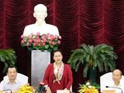 NA Chairwoman reviews Binh Thuan's socio-economic development