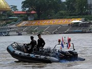 Four countries launch 80th joint patrol on Mekong River