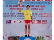 Japanese cyclist wins int'l women's cycling tournament