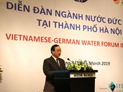 Hanoi calls for German investments in drainage, wastewater treatment