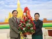 Vietnam Ambassador congratulates Laos on Party founding anniversary