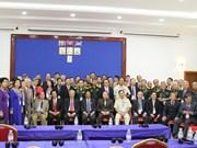 Ex-Vietnamese voluntary soldiers visit Cambodia