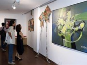 American, overseas Vietnamese artists hold exhibition in Da Nang