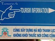 Hanoi strives for smoke-free environment for tourism