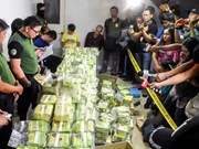 Thai police seize drugs worth 25 million USD