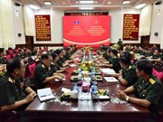 High-ranking delegation of Lao army visit Military Zone 9
