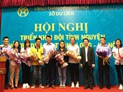 Hanoi students promote local tourist attractions