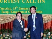 Vietnamese, Cambodian legislators share experience