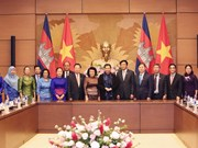 NA leader affirms priority to ties with Cambodia legislature