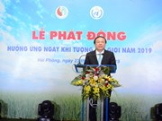 Vietnam responds to World Meteorological Day 2019