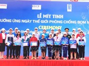 Meeting responds to Int'l Mine Awareness Day in Quang Binh