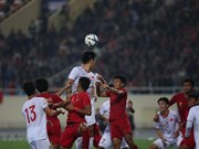 Vietnam beat Indonesia 1-0 in AFC U23 qualifier