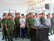 Sentences upheld for 13 rioters in Binh Thuan