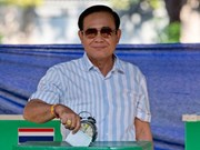 Thailand election: ruling party leads with 7 million votes