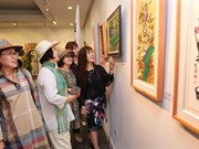 First Vietnam-RoK int'l fine arts exhibition held