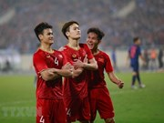 Int'l media hail Vietnam's victory over Thailand in AFC U23 champs