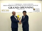 Vietnam's property company Netland opens office in Japan