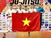 Vietnam wins gold medal at Ju-Jitsu Thailand Open