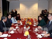 NA Chairwoman receives France's aerospace group leaders