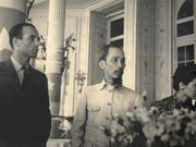 Archives on President Ho Chi Minh displayed in Paris