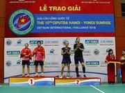 Over 290 athletes to compete in Hanoi badminton tournament