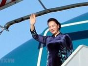 NA Chairwoman begins working trip to European Parliament