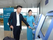 Vietnam Airlines opens self check-in kiosks at Heathrow airport